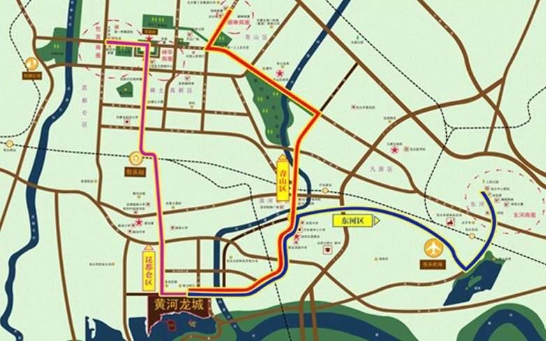 黄河龙城·半岛美墅位置图