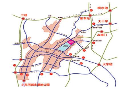 花果园亚太中心位置图