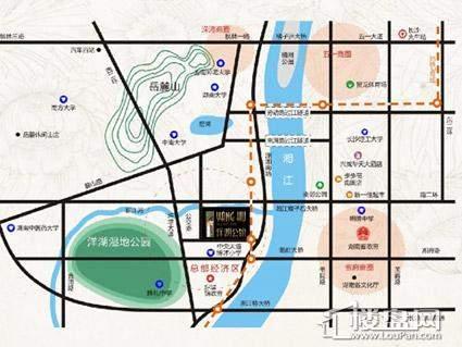 合能洋湖公馆公寓位置图