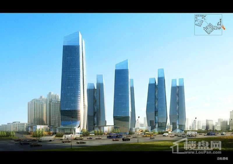 中渝第一城写字楼实景图