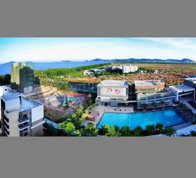 时代山湖海实景图