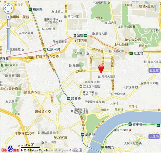 万汇中心位置图