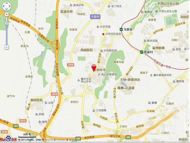 华宇城 位置图