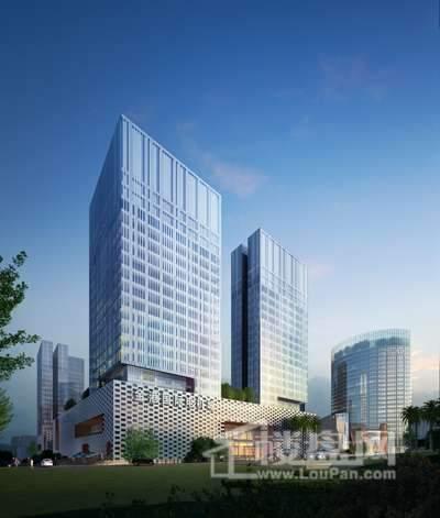金港国际中心商铺实景图