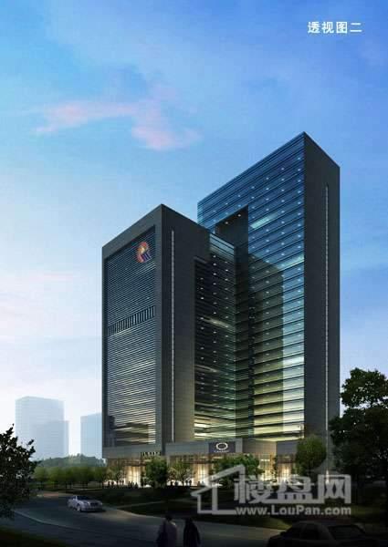 黔桂國際商務中心寫字樓效果圖