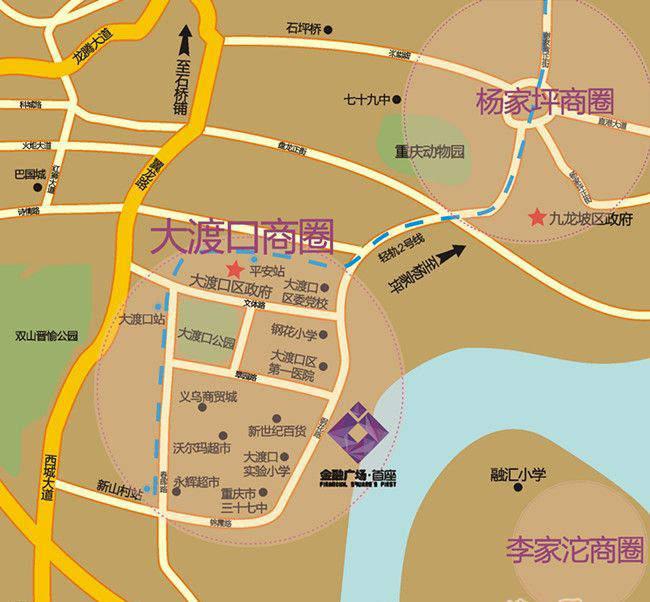 金融广场二期位置图