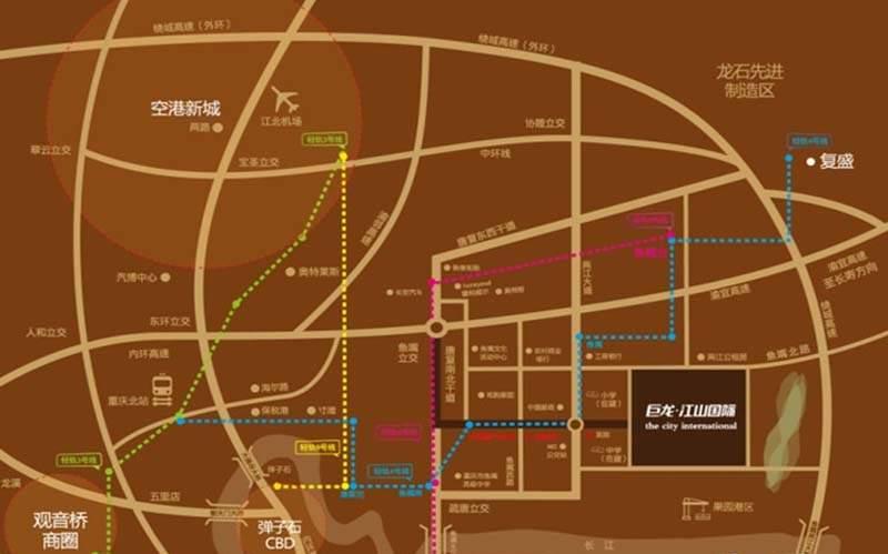 巨龙江山国际位置图