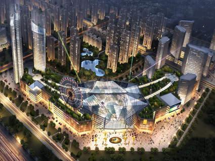 郑州百荣世贸商城效果图