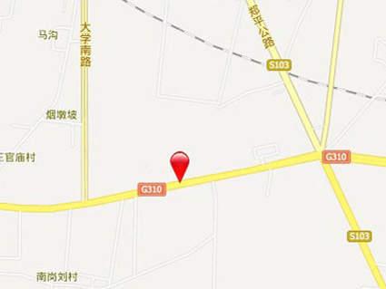 郑州百荣世贸商城位置图