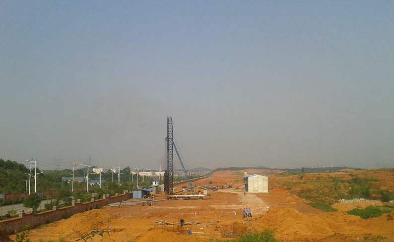 金桥国际实景图