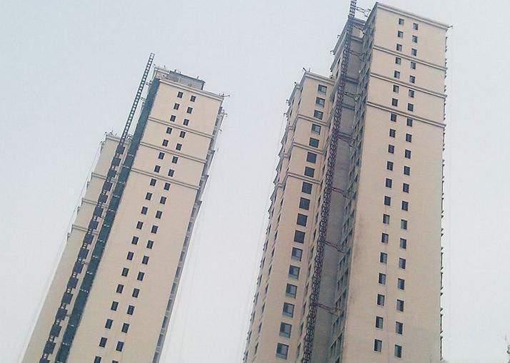 钢城水岸实景图