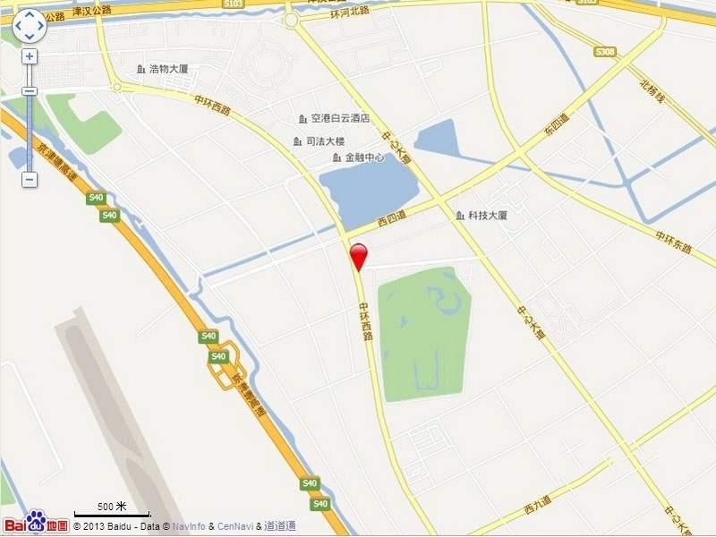 万顺空港融和广场雅仕阁公寓位置图