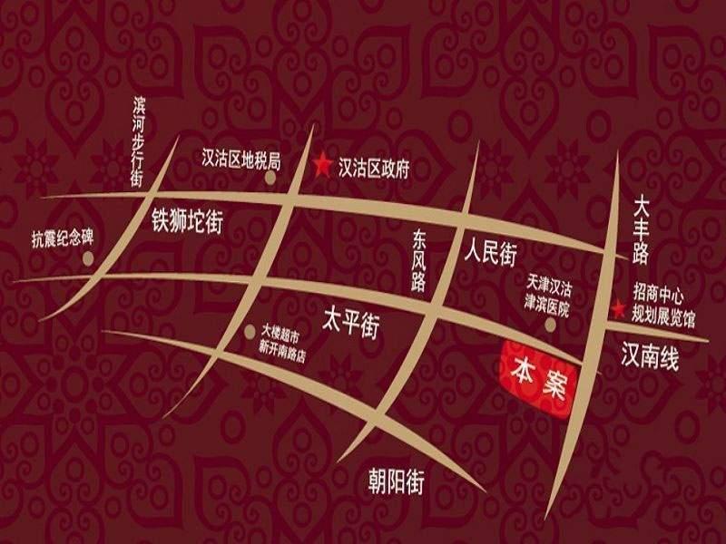 明城东岸位置图