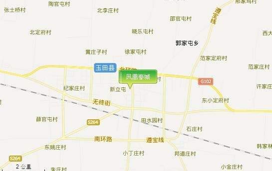 凤凰春城位置图