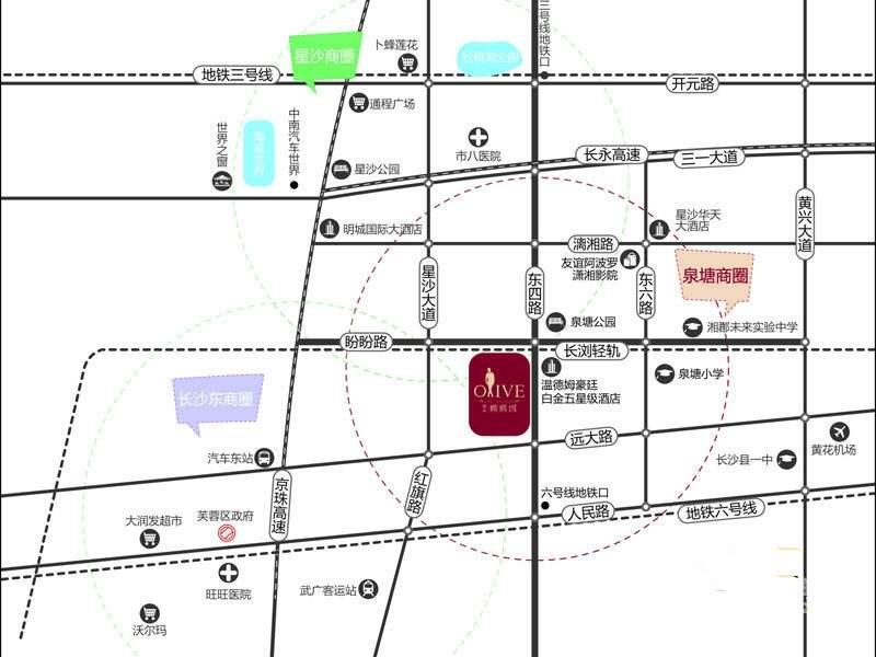 橄榄城位置图