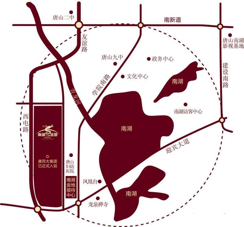 南湖金地位置图