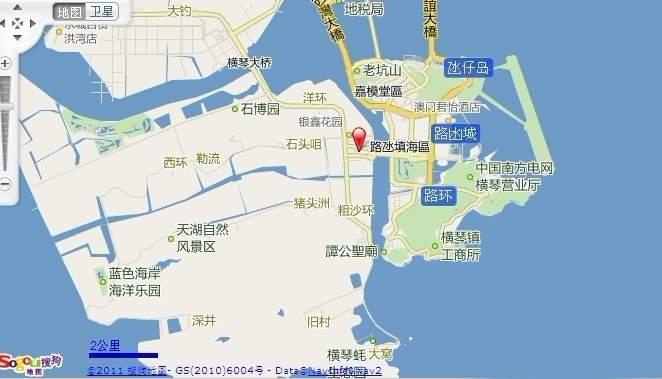华融琴海湾位置图