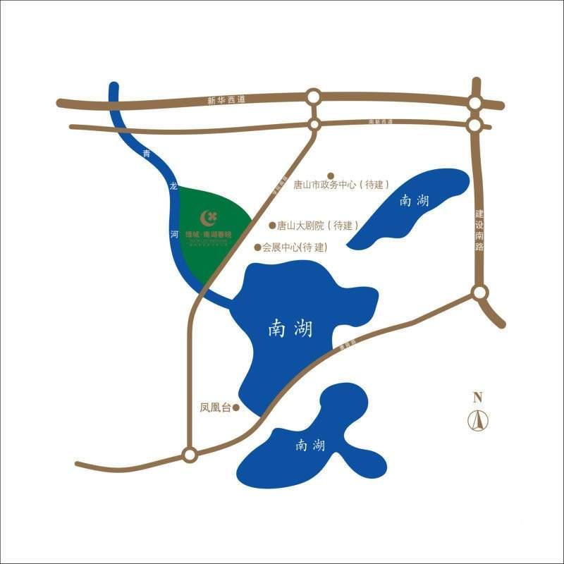 绿城南湖春晓位置图