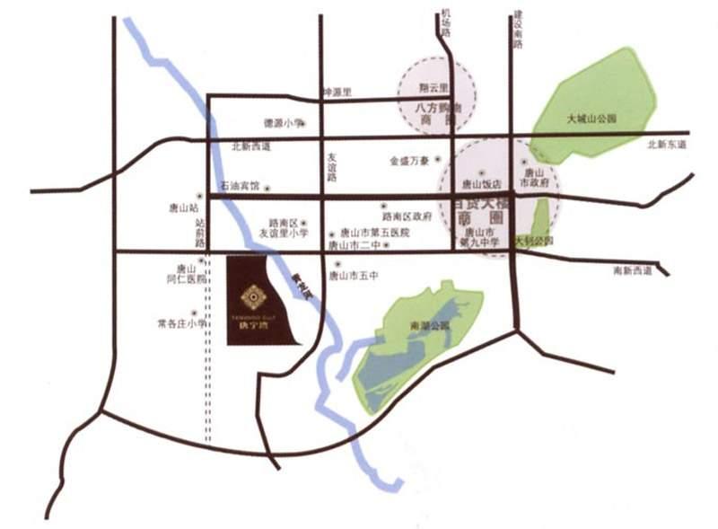 唐宁湾位置图