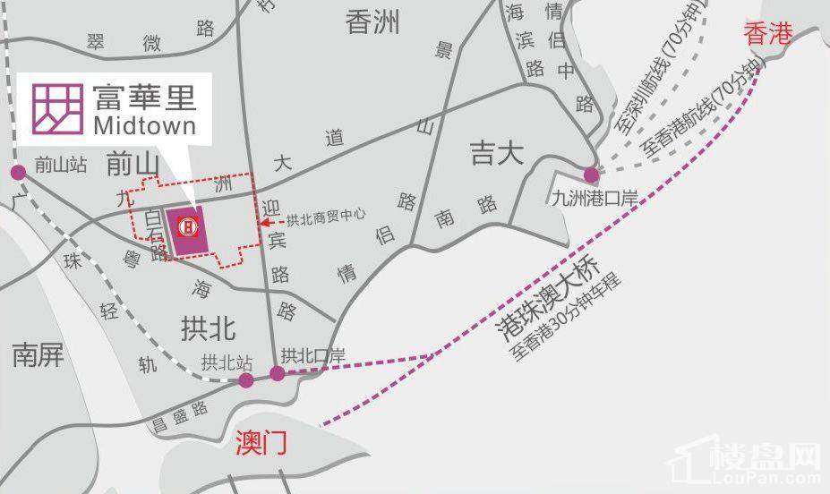 中海富华里位置图