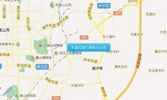 东港龙城三期优仕名苑位置图