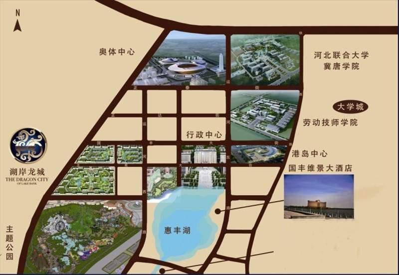 湖岸新城位置图