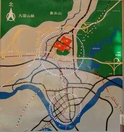 龙达九珑山位置图