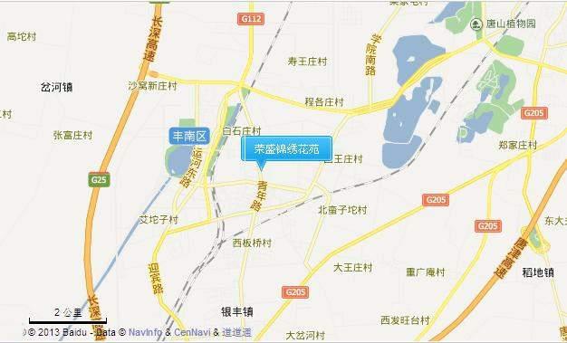 荣盛锦绣花苑位置图