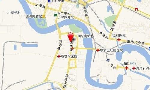 海昌天澜位置图