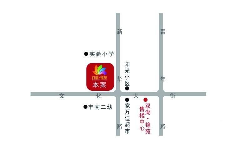 双湖锦苑位置图