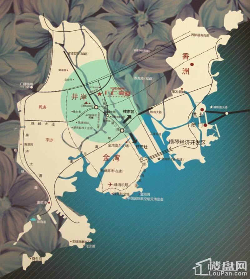 广汇高墅位置图