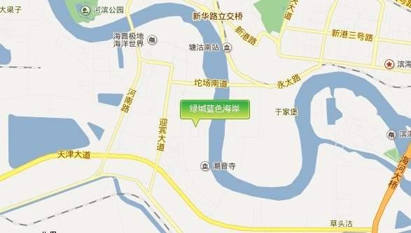 绿城蓝色海岸位置图
