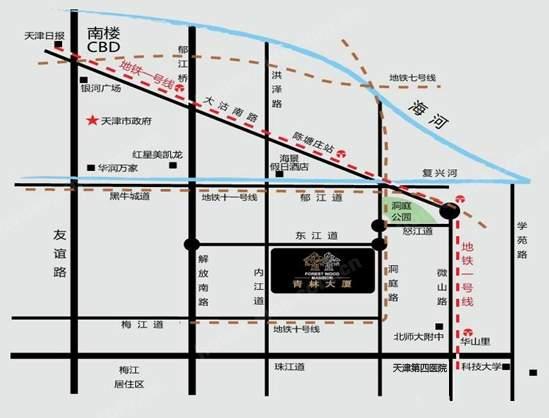 青林大厦位置图