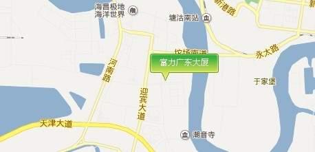富力广东大厦位置图