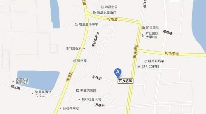 东方名邸位置图