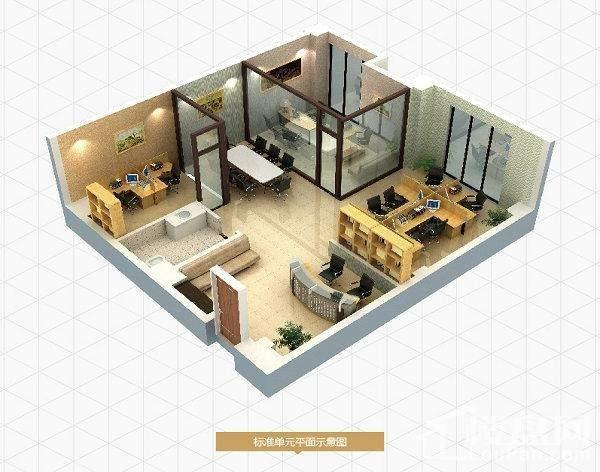 二期公寓标准层