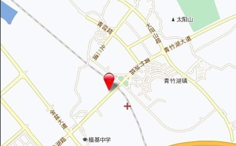 青竹湖太阳星城位置图