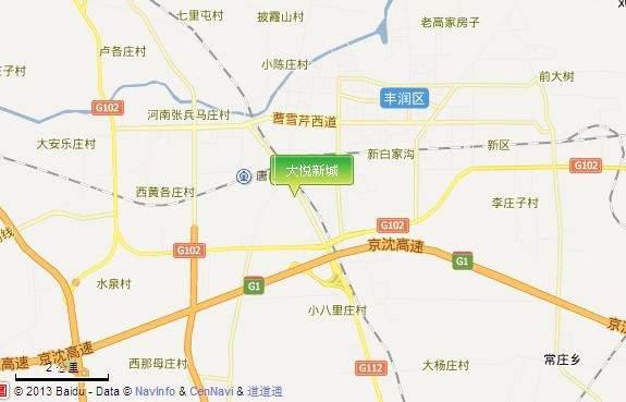大悦新城位置图