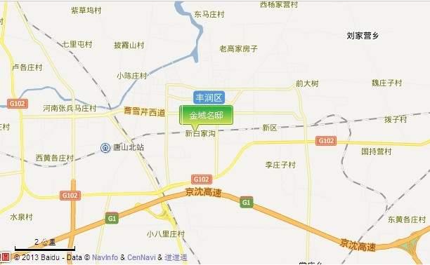 金域名邸位置图