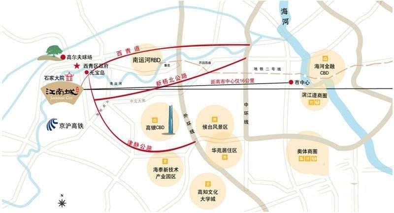 宝安江南城位置图