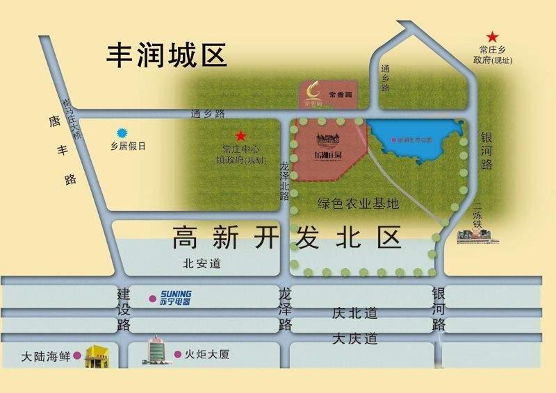 龙湖庄园位置图