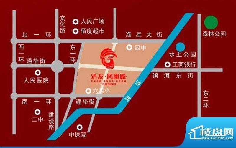 浩友凤凰城位置图