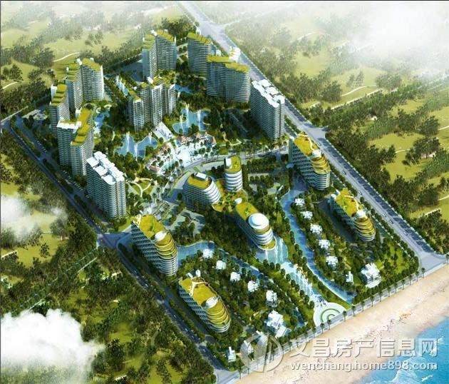 东方龙湾鸟瞰图
