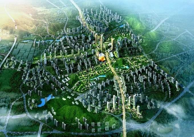 九州十里锦城效果图