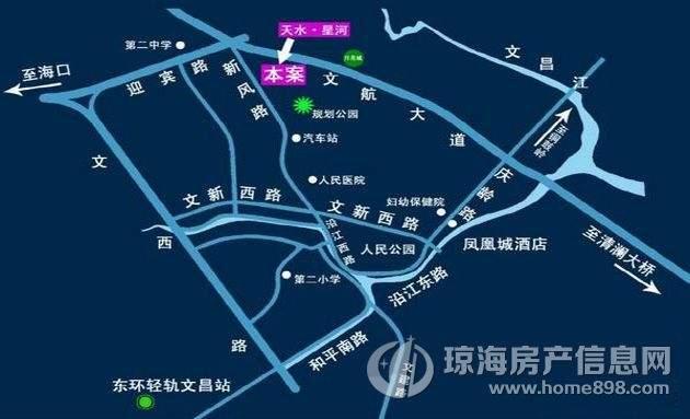 天水星河交通图