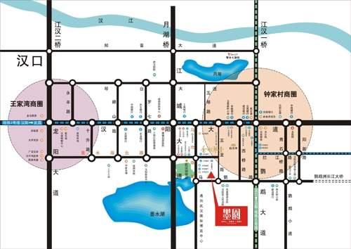 新长江香榭琴台墨园位置图
