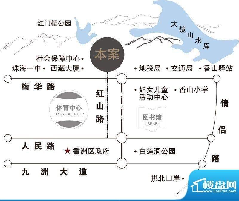 尚东领御位置图