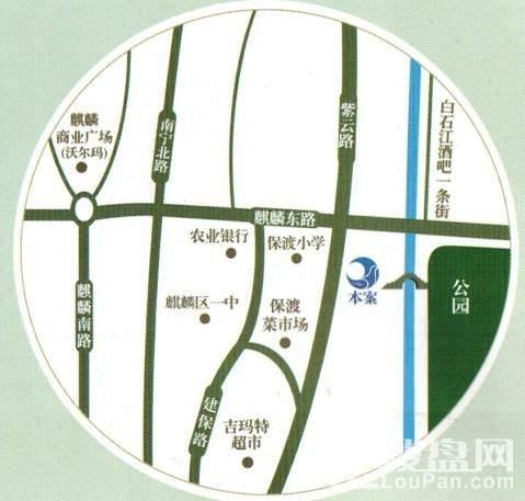 靖林湾位置图