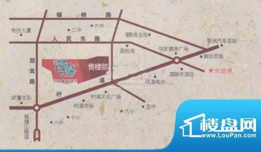 映晖湾位置图