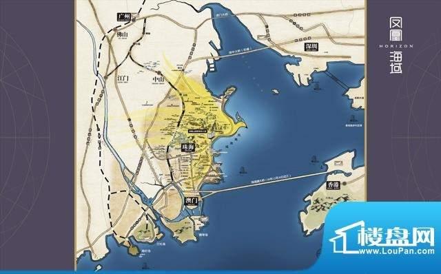 凤凰海域位置图